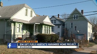 Milwaukee Habitat for Humanity launches Harambee Neighborhood revitalization plan with Bader Grant