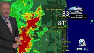 LIVE: Storms developing Wednesday afternoon