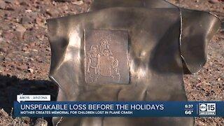 Valley mom creates memorial for children lost in plane crash