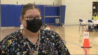 RAW VIDEO: Millard's head nurse on COVID vaccine
