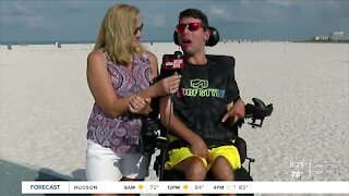 St. Pete model with cerebral palsy lands new ad campaign