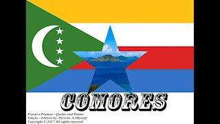 Bandeiras e fotos dos países do mundo: Comores [Frases e Poemas]