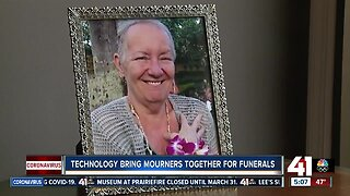 Technology brings mourners together for funerals