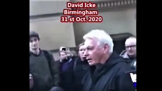 Das haben die Regierungen vor: Hört dazu David Icke, Birmingham aus Großbritanien 31.10.2020