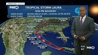 Tropics Update 8/24/20 PM