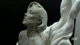 Former Largo competitive bodybuilder sculpts statue of Marilyn Monroe