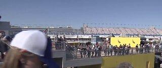Race day at Las Vegas Motor Speedway