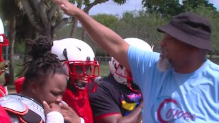 Women's tackle football makes its way to Palm Beach County