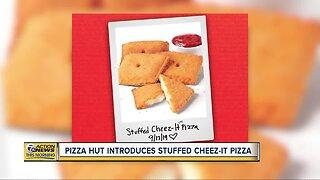 Pizza Hut introduces stuffed Cheez-It pizza