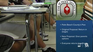 School District of Palm Beach County proposes revised reopening plan