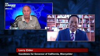 CA gubernatorial candidate Larry Elder tells Mike about his bid to replace Gavin Newsom & his lead in the polls