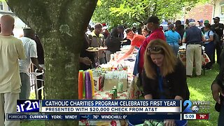 Catholic Charities celebrates first year