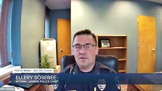 Lansing Interim Police Chief Ellery Sosebee