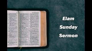 Sunday Service for September 20, 2020