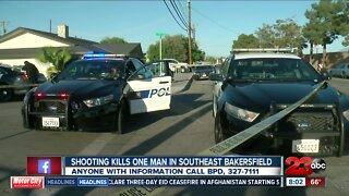 Shooting in Central Bakersfield leaves one man dead