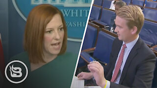 Psaki Gets NASTY When Reporter HAMMERS Her With Tough Questions