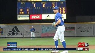 CSUB baseball outhits San Francisco