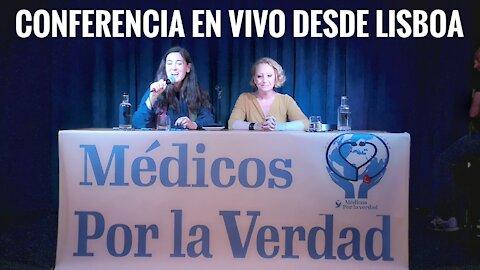 Conferencia en Vivo desde Lisboa de Médicos por la Verdad