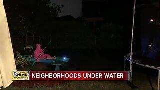 Neighborhoods under water