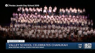 Valley school celebrates Chanukah with virtual events