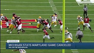 Michigan State's game against Maryland canceled Saturday