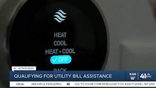 Qualifying for utility bill assistance