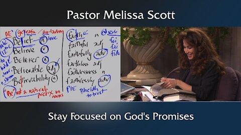 Stay Focused on God's Promises