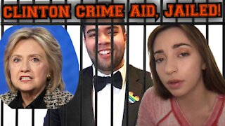 CLINTON CAMPAIGN OFFICIAL, JAILED!!!