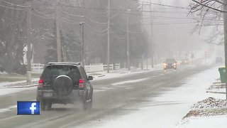 Snow causing problems for drivers