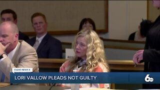 Lori Vallow pleads not guilty, trial set for April
