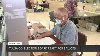 Part 2: Tulsa Co. Election Board ready for ballots