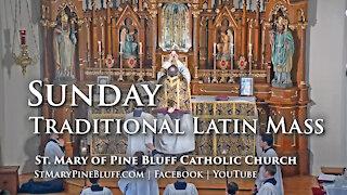 Holy Mass for Septuagesima Sunday, Jan. 31, 2021 (TLM)