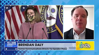 BRENDAN DALY ON PELOSI'S POLITICAL TIGHTROPE ON STIMULUS BILL