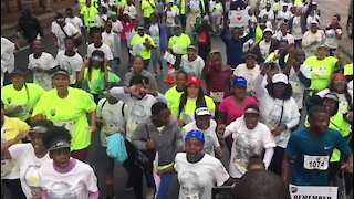 SOUTH AFRICA - Pretoria - Mandela Remembrance Walk (Videos) (Vmp)