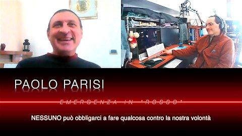 """EMERGENZA IN """"ROSSO"""" con Paolo Parisi e Luca Jibo"""