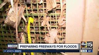 Preparing freeways for flooding