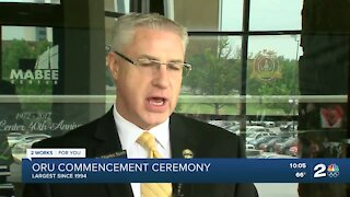 ORU celebrates largest commencement ceremony since 1994
