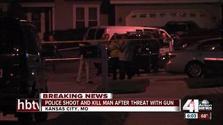 KCMO police kill man they say threatened them with gun