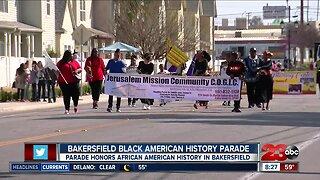 Black American History Parade makes its way through downtown