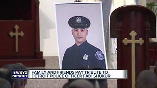 Funeral held for fallen Detroit police officer Fadi Shukur