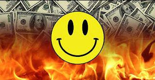 Money Burning!