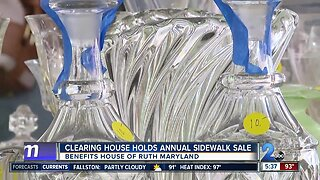 The Clearing House holds annual Sidewalk Sale in Timonium