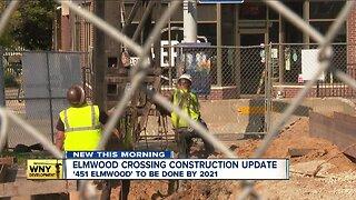 Elmwood Crossing construction begins