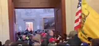 Brownstown man charged in Capitol riots