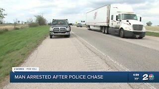 TCSO: Suspect arrested after pursuit on Highway 75