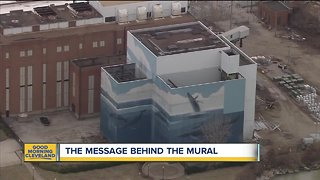 What's with Cleveland's whale mural?