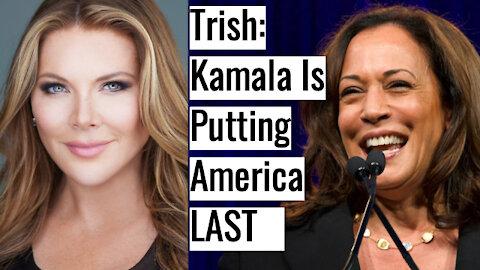 "Trish vs Kamala: Trish Shreds Kamala's ""America Last"" Border Policy"