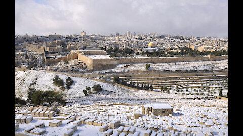 STRANGE WEATHER PATTERNS ACROSS THE GLOBE...EVEN JERUSALEM