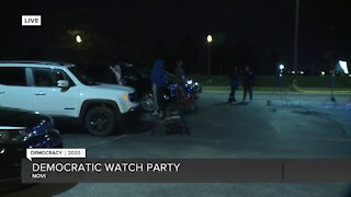 Michigan Democrats hold watch party in Lansing on Election Night