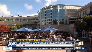 UC San Diego taking precautions amid coronavirus outbreak
